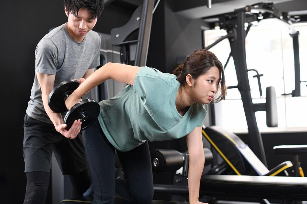 体験コースの流れ トレーニング